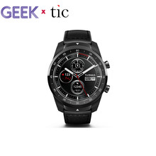 100% Awesome Ticwatch Pro Wear OS smart watch IP68 for Google Assistant NFC payment big battery Watch(China)