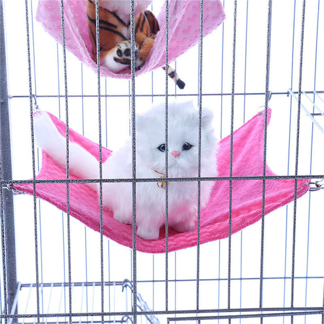 pet kitten cat hammock removable velcro hanging soft bed cages for chair kitty rat small pets pet kitten cat hammock removable velcro hanging soft bed cages for      rh   aliexpress
