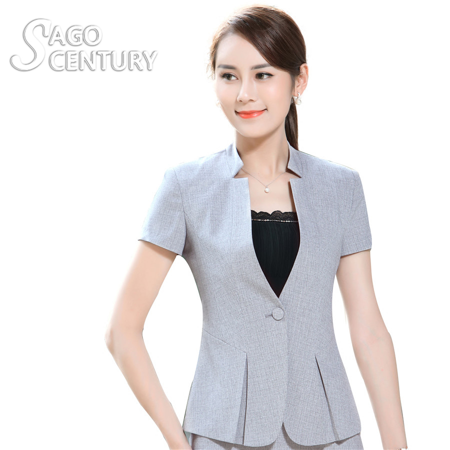 Blazer Women Short Sleeve Promotion-Shop for Promotional Blazer ...