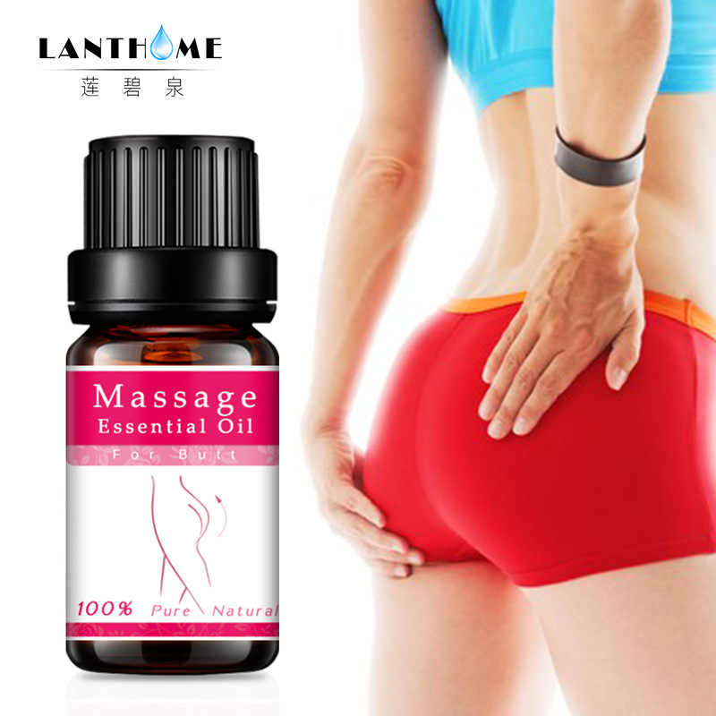 Lanthome vrouwen hot sexy Uitbreiding Lift Up Heupen Bil Massage Olie 10 ml