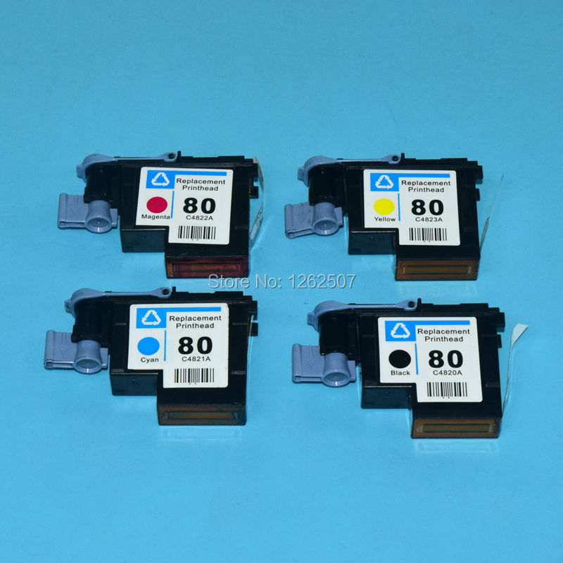 HP80 c4820a c4821a c4822a c4823 Print head For hp 80 printhead for HP officeJet pro 1050 1055 1000 1000plus printer print head original c2p18 30001 for hp 934 935 934xl 935xl printhead printer head print head for hp officejet 6830 6230 6815 6812 6835
