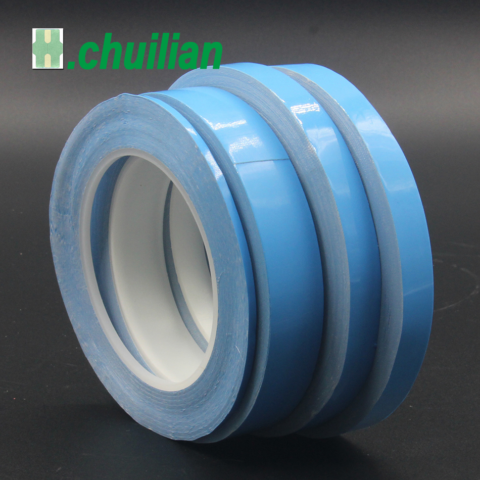 1 Roll 3-15mm  High Quality Transfer Tape Double Sided Thermal Conductive Adhesive Tape For Chip PCB LED Heatsink