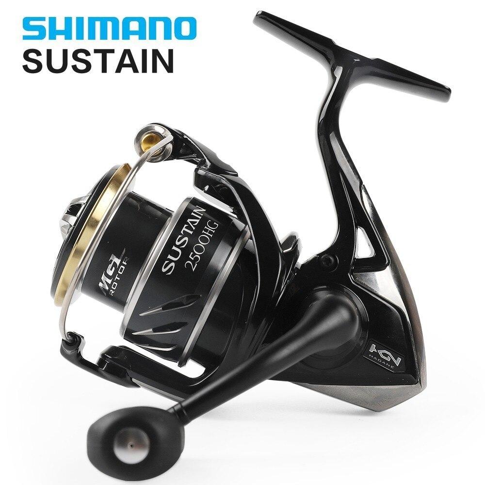 100% Original Shimano 2017 Sustentar Spinning Reel Fishing 2500HG C3000HG 4000XG C5000XG 9 kg 8 + 1BB Saltwater Fishing Reel x-SHIP