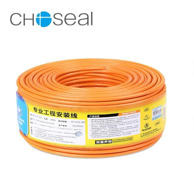 Choseal 30th יום נישואים QS6162 DIY Cat6 Gigabit Lan כבל Ethernet כבל חמצן טהור-משלוח נחושת במהירות גבוהה כבל Ethernet