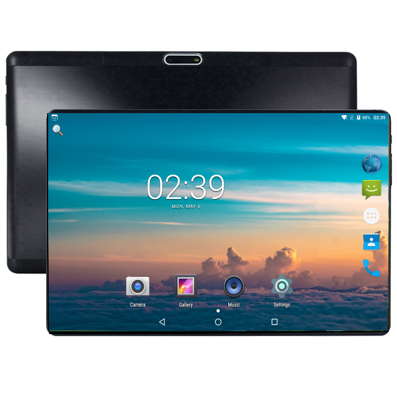 2020 Global Version 10 inch tablet Quad Core 2GB RAM 32GB ROM 3G WIFI 1280*800 IPS Dual SIM Card Wifi GPS Android 7.0 Tablet 1
