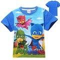 2016 маски мода дети футболки мальчики футболки для девочек топы и блузки детские рубашки дети футболки одежда детей одежда