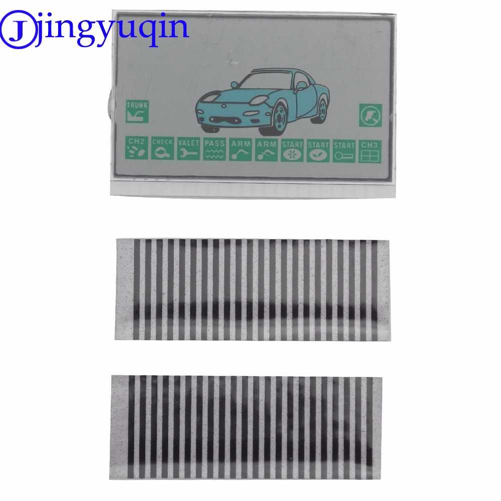 jingyuqin Russia Version A9 LCD display loop For Starline A9 2-way Remote Starter A9 LCD Display Screen Flexible Cable