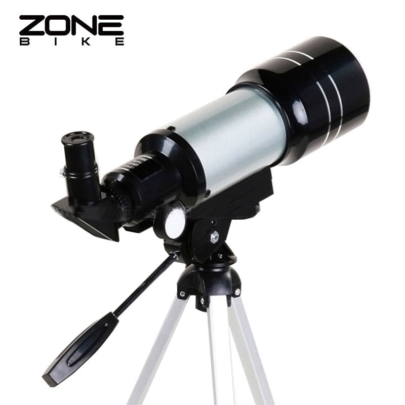 ZONEBIKE 150 HD Astronomical Telescopes With Tripod Beginners Camping Telescopio Terrestre Monocular Night Vision Binoculars