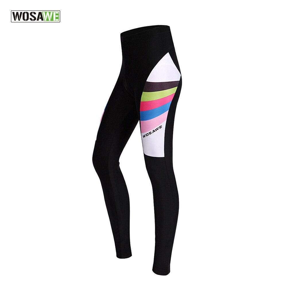 Цена за Wosawe новый женский велоспорт шорты 3d гель мягкий горный велосипед езда велосипедов ciclismo колготки брюки