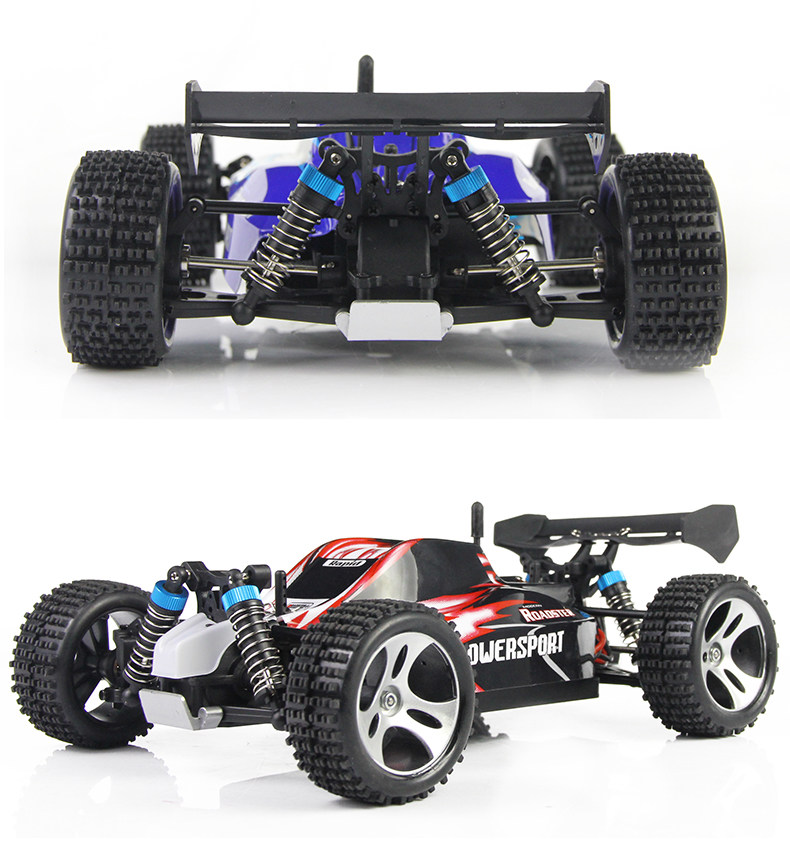 A959 2.4G 1/18 Scale Remote Control Off-road Racing Car High Speed Stunt SUV Toy Gift For Boy RC Car free shipping