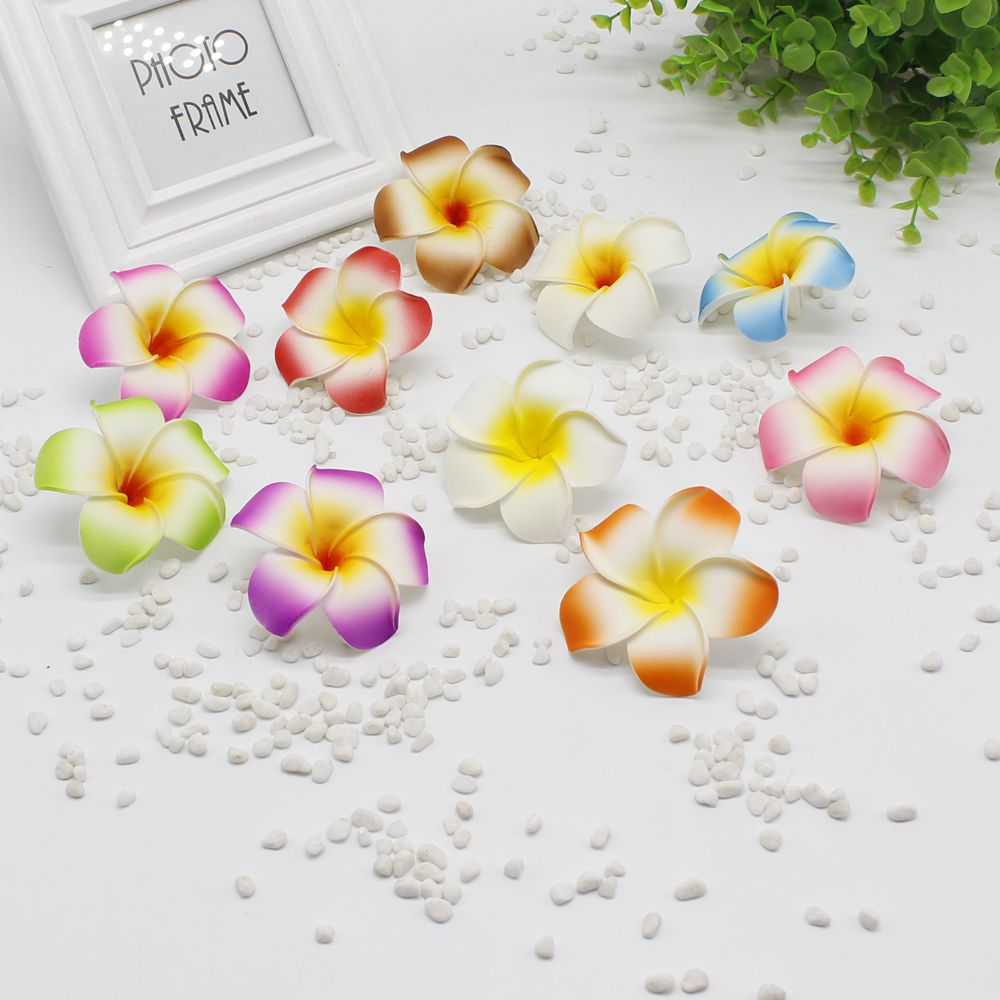 5 pieces / lot new 8cm size bubble mini fake egg hairpin / children hairpin Hawaii beach hair ornaments