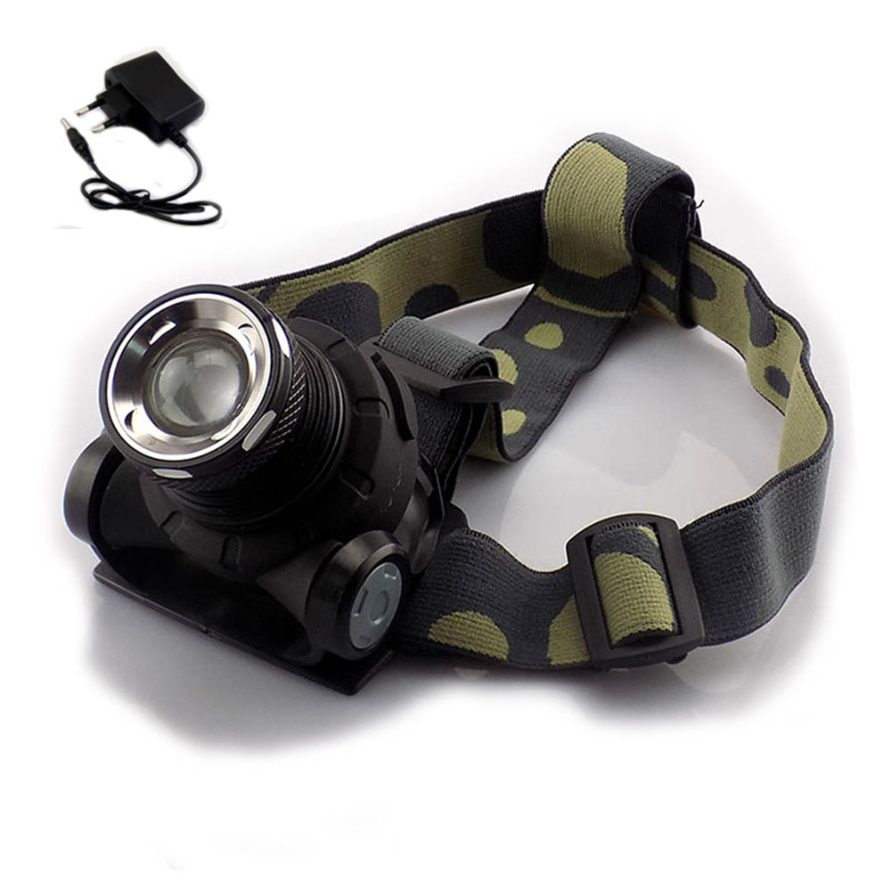 Cree Q5 Headlamp Built-in Li-ion Head Light Lamps 1600 Lumens Headlight With Rechargeable Frontal Flashlight LED Torch Lantern