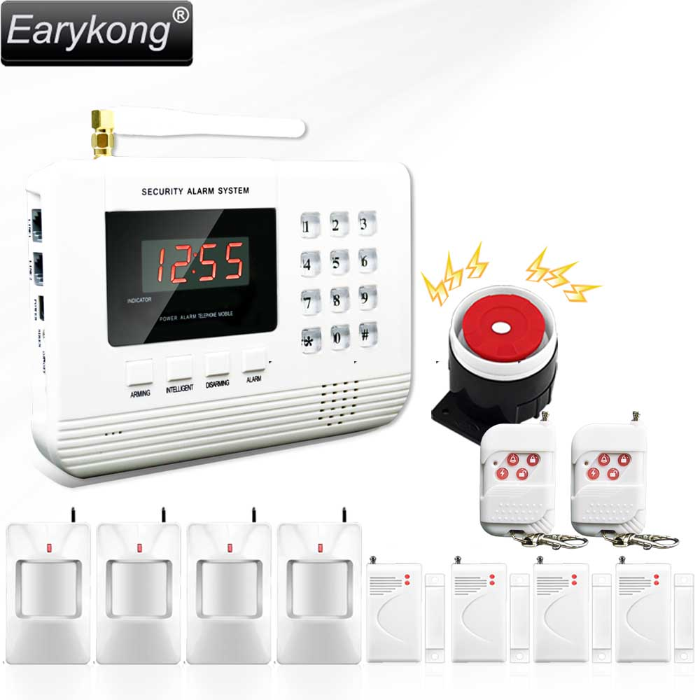 Hot Selling Free Shipping  wholesale Wireless  PSTN GSM Alarm System 433MHz  Home Burglar Security Alarm System 2-3 hot selling free shipping wholesale wireless gsm alarm system 433mhz home burglar security alarm system