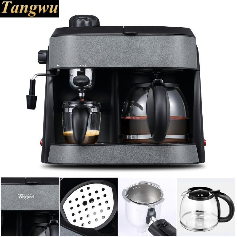 American espresso machine is full of semi-automatic commercial steam