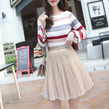 b946851a2d Nueva falda de las mujeres de moda falda de tul Rosa Tutu falda Lolita falda  de
