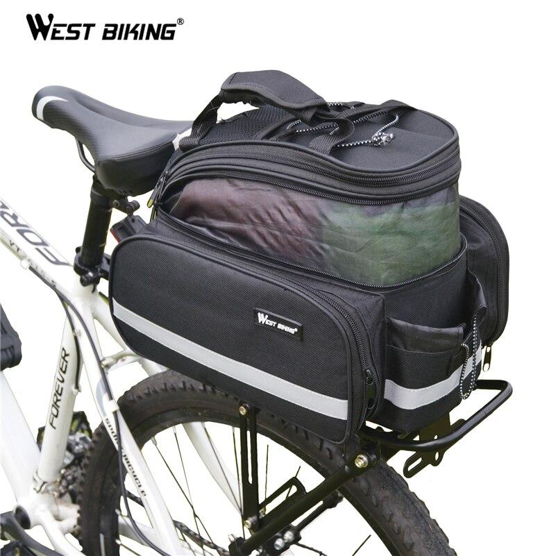 Запад biking 25 кг Подставки для велосипеда велосипед сзади Чемодан стойки MTB велосипеда Интимные аксессуары bagageiro Bicicleta грузовой рюкзак Подста...