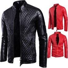 b3f35e0eb4389 Toptan Satış mens red leather coat Galerisi - Düşük Fiyattan satın alın mens  red leather coat Aliexpress.com'da bir sürü