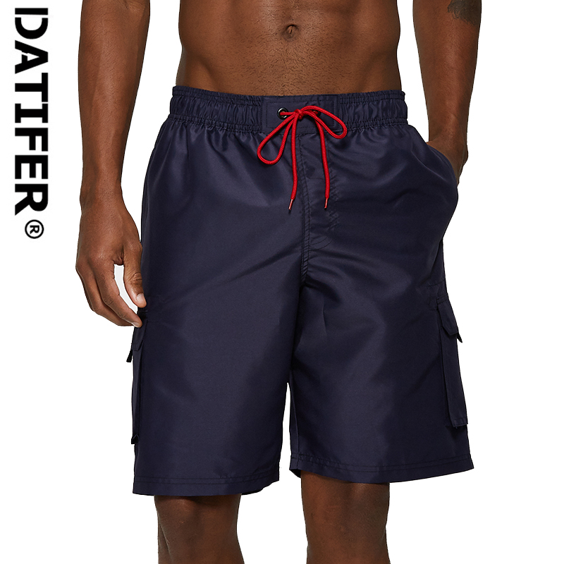 Datifer Male   Board     Shorts   summer New Beach   Shorts   Bermuda surfing swim trunk boxer   shorts   Elastic Waist DC06