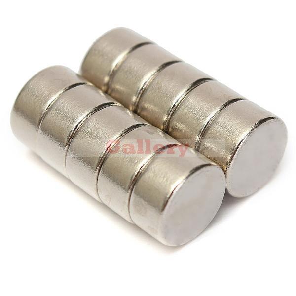 Rushed Iman Neodimio Neodymium Magnet 20pcs Lot 10mm X 5mm N52 Strong Rare Earth Ndfeb Disc Neodymium Magnet Generator