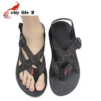 bf662146e Summer Men Sandalias Vietnamese Shoe Fashion Outdoor Casual Gladiator Thong  Sandals Chinelo Masculino Rubber Shoes