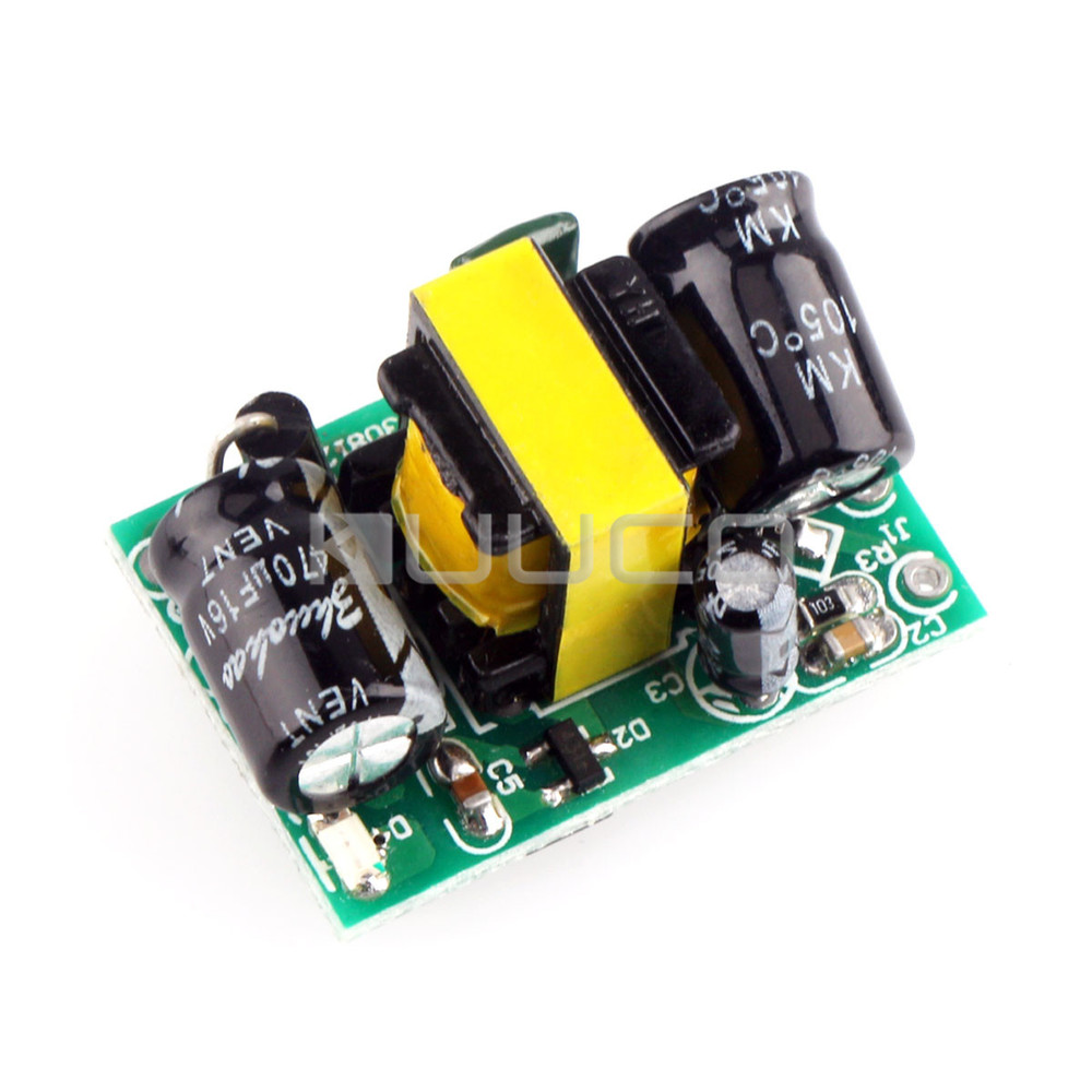 Dual Output Switching Power Supply AC 90~240V to DC12V/400mA 5V/100mA 5W Buck Voltage Regulator/LED Driver/Power Adapter etc 500pcs lm317 to92 lm317lz voltage regulator 1 2v to 37v 100ma 0 1a to 92 new and original free shipping