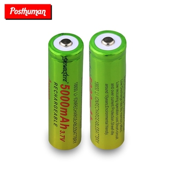 1/2/4/6/8 Pieces 18650 Li-ion Battery 5000mAh Rechargeable Batteries 3.7 V 18650 Li Ion Lithium Battery Cells Replacement