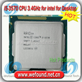 Для Intel Core i5 3570 Процессор 3.4 ГГц/6 МБ Cache/Quad Core/Socket LGA 1155/Quad-Core/Desktop ПРОЦЕССОР I5-3570