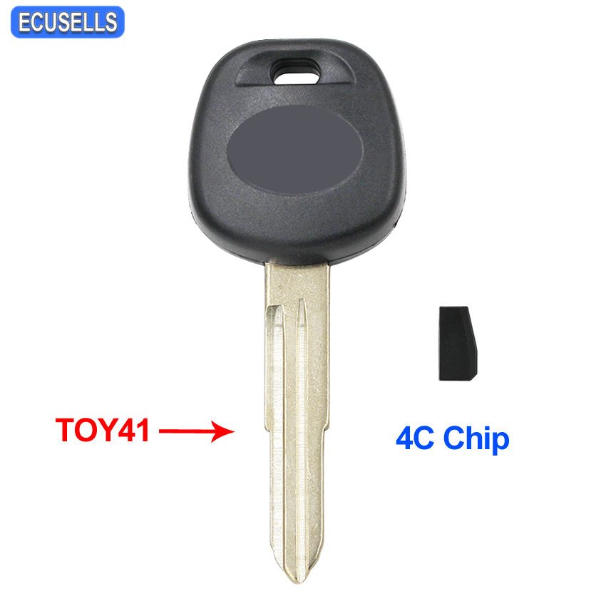 Car Transponder Ignition Chip Key Blank For 2003 2004 2005 2006 Toyota 4Runner