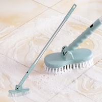 Cleaning Brush Scalable rotatable Cleaner Bathroom Ceiling Kitchen Multi Purpose uses Long handle brush wall corner Clean Tools Mops     -