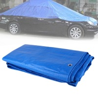 Car Auto Tarpaulin Luggage Cover Canvas Sheet Roof Shelter Tent Canopy Waterproof Dustproof Tarp Outdoor PVC