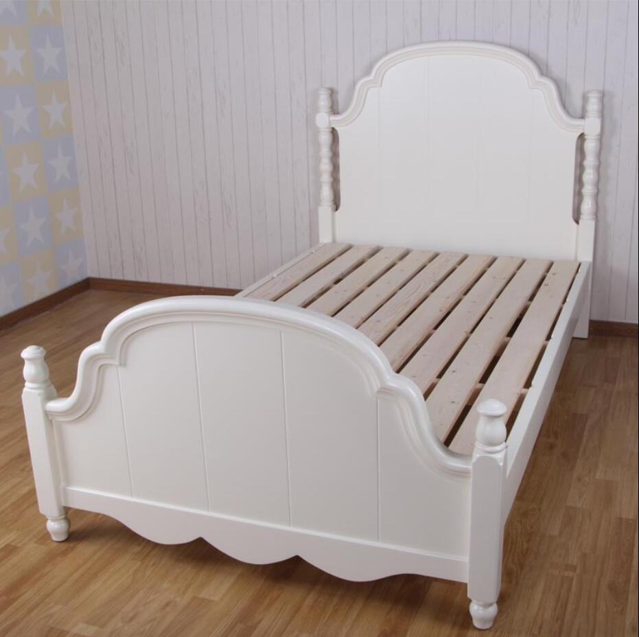 XF233 Modern colorful solid wood bed furniture European style children 's furniture custom rural American rural children bed эркер magnolia custom furniture