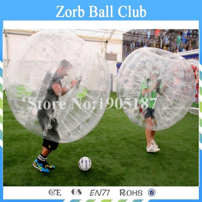 Бесплатная доставка Горячие пузырь футбол игра высшего качества 100% ТПУ тело Зорб, бампер Бурлящий шарик, пузырь костюм