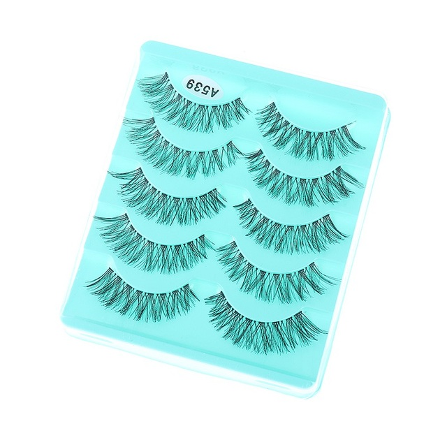 10 Pairs 3D Long Cross False Eyelashes Soft Eye Lashes Extension Messy Natural Style Gorgeous Soft Handmade Makeup Accessorices