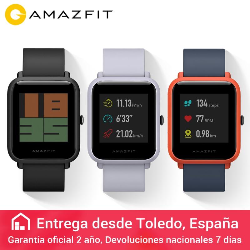 ec4c93bc08a English Version Huami Amazfit Bip Smart Watch Reflection Color Screen 1.28