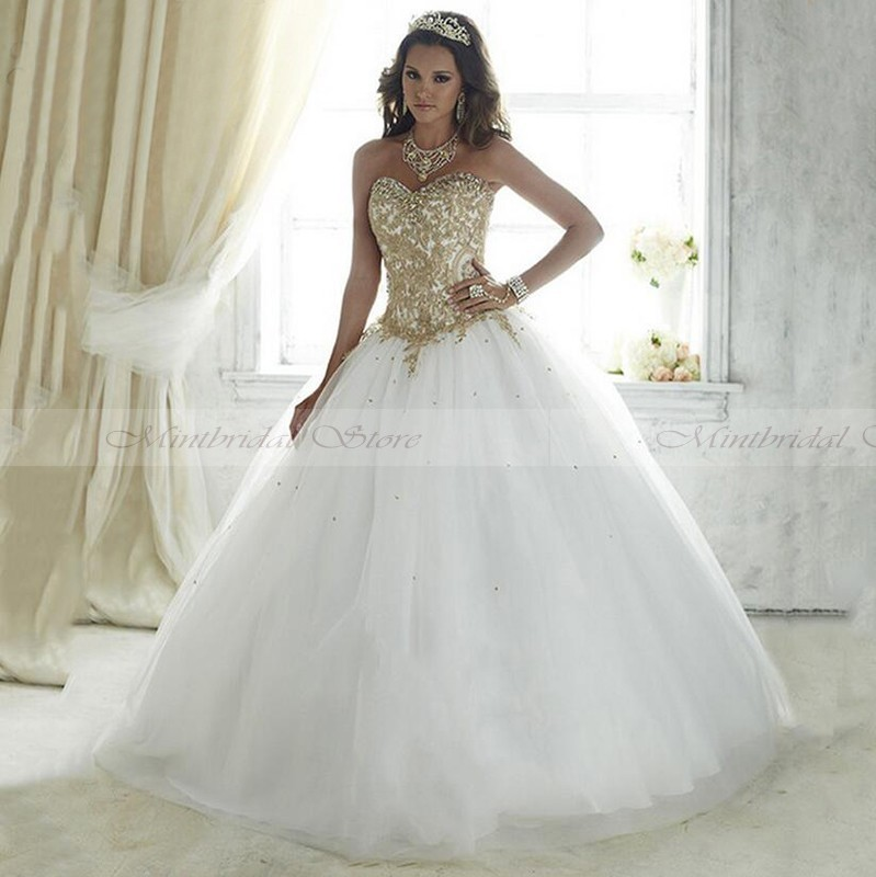Online Get Cheap Quinceanera Dresses White -Aliexpress.com ...