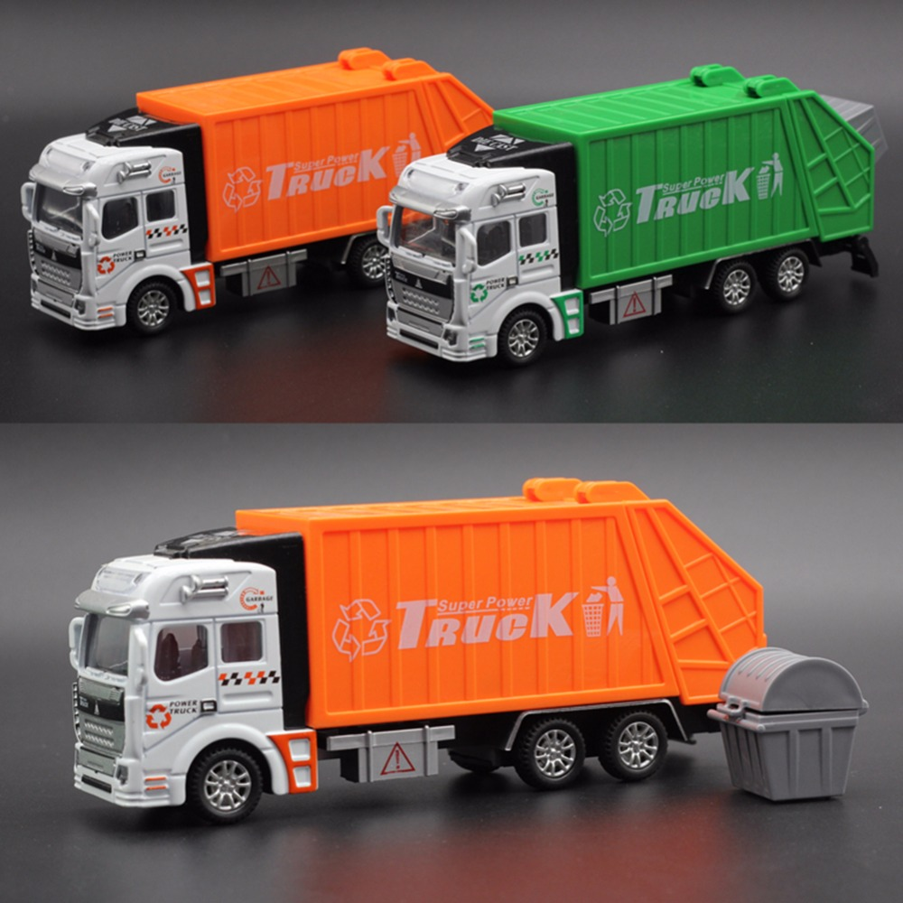 New Large Garbage Truck Toy For kids Clean Car Sanitation Trash ...
