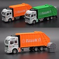 New Large Garbage Truck Toy For kids Clean Car Sanitation Trash Trucks Alloy Car Model Christmas Gift For Child