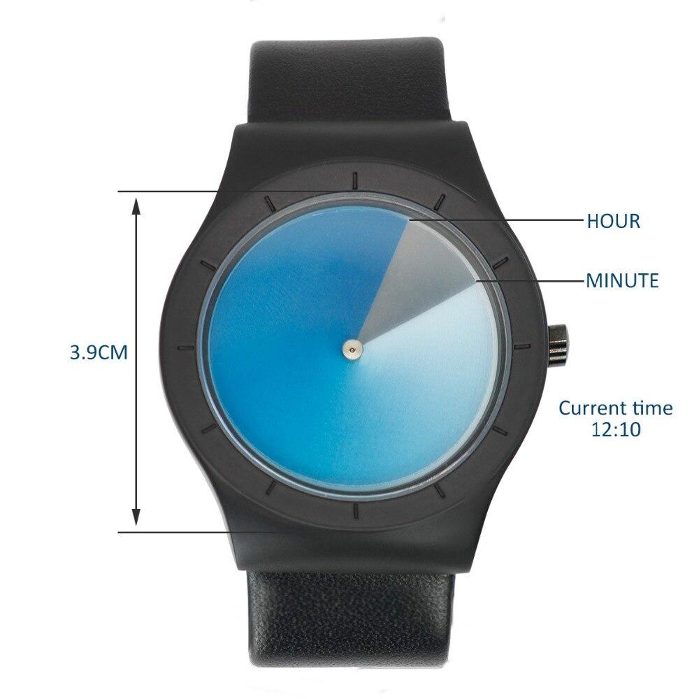 ZLIMSN Quartz Simple Watches Men Top Luxury Brand Casual Genuine Leather Band Unisex Watch Clock Male Female Gentleman Gift