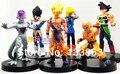 Dragon Ball Z figuras de acción Goku figura PVC juguetes, colección de regalos 6 unids/set, juguetes para niños