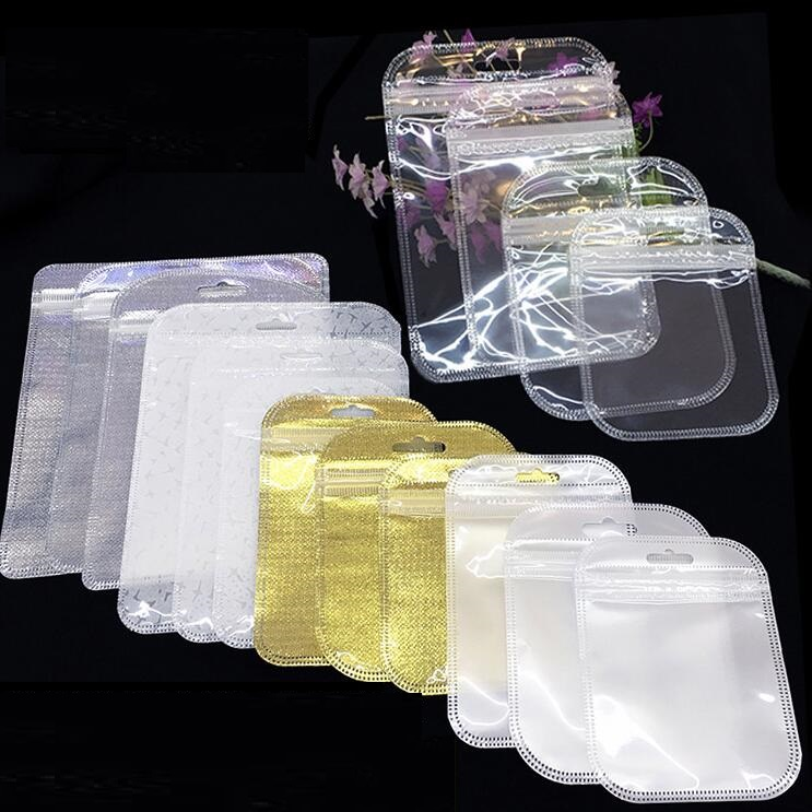 Bags Plastic Packaging-Bag Zipper-Bag Ziplock-Storage Mini 50pcs/Lot Pouches
