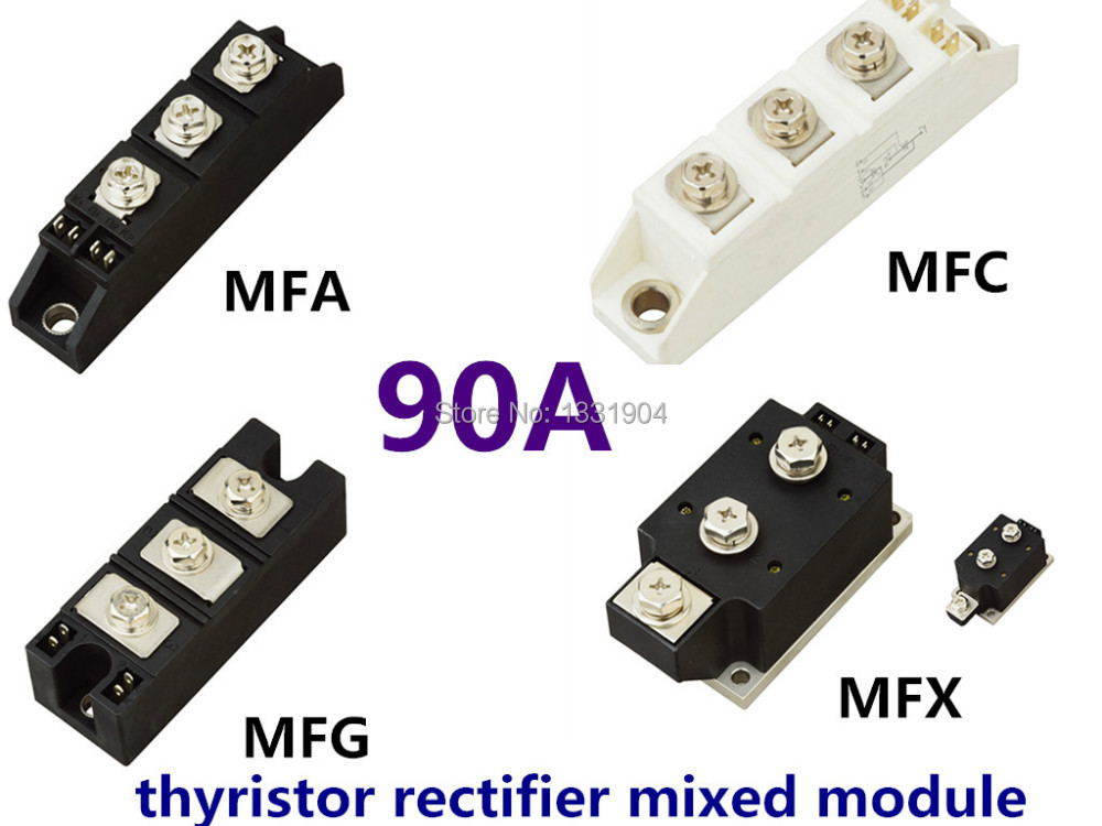 new original 90A Thyristor Rectifier diode mixed Module MFC MFA MFK MFX 90A welding joint free shipping