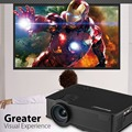 Excelvan GP9 EHD09 LED Projector 800x480 pixels 2000 lumens Home Cinema Support HDMI/USB/SD/AV/AUX Beamer with Free HDMI Cable