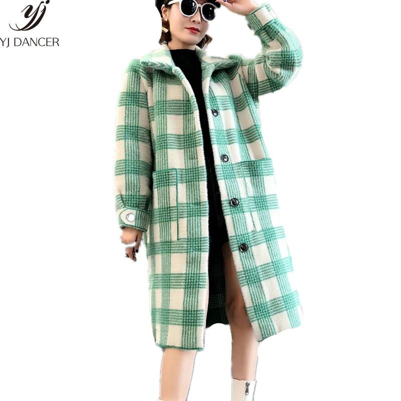 Abrigo Agua Gruesa E Mujer Largo Pink 399 Otoño Suelta Green Blue vHnwqE0E