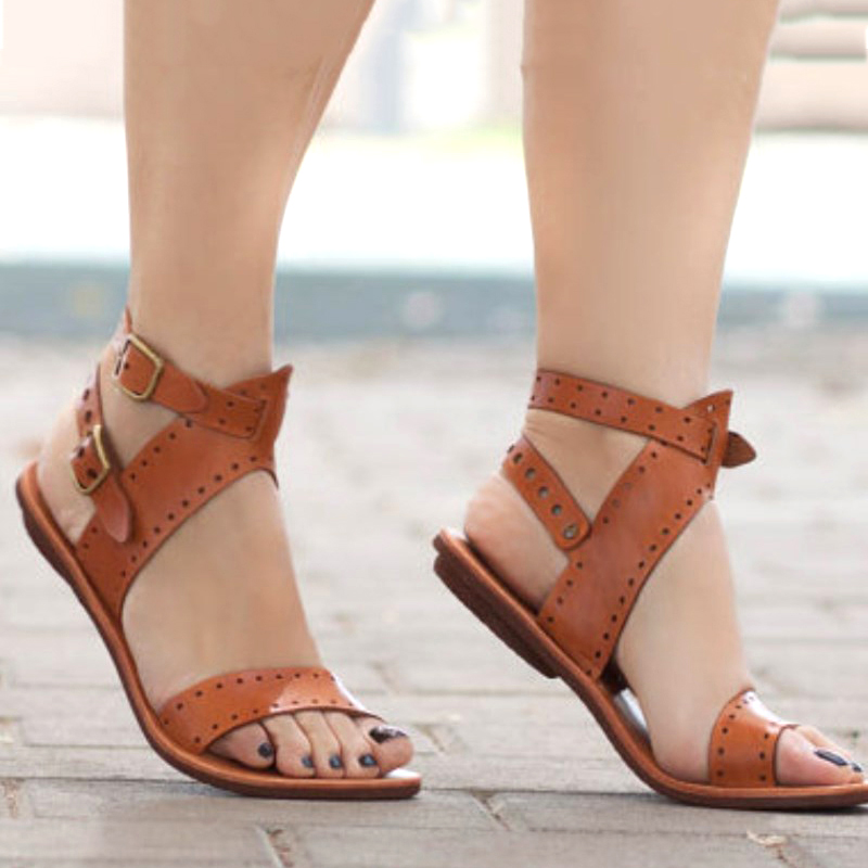De Zapatos Hebilla Negro Correa blanco 2018 Mujer Gladiador Caliente Ocio Moda Toe Verano Playa Peep Tacón amarillo Bajo Sandalias 4Iwf4zqY