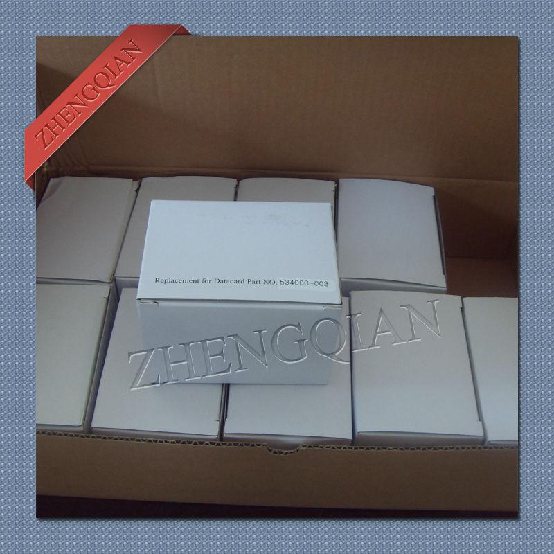 compatible Datacard 534000-003 YMCKO color ribbon for SD260 ID card printer original evolis r5f008saa ymcko color ribbon work on zenius and primacy printer
