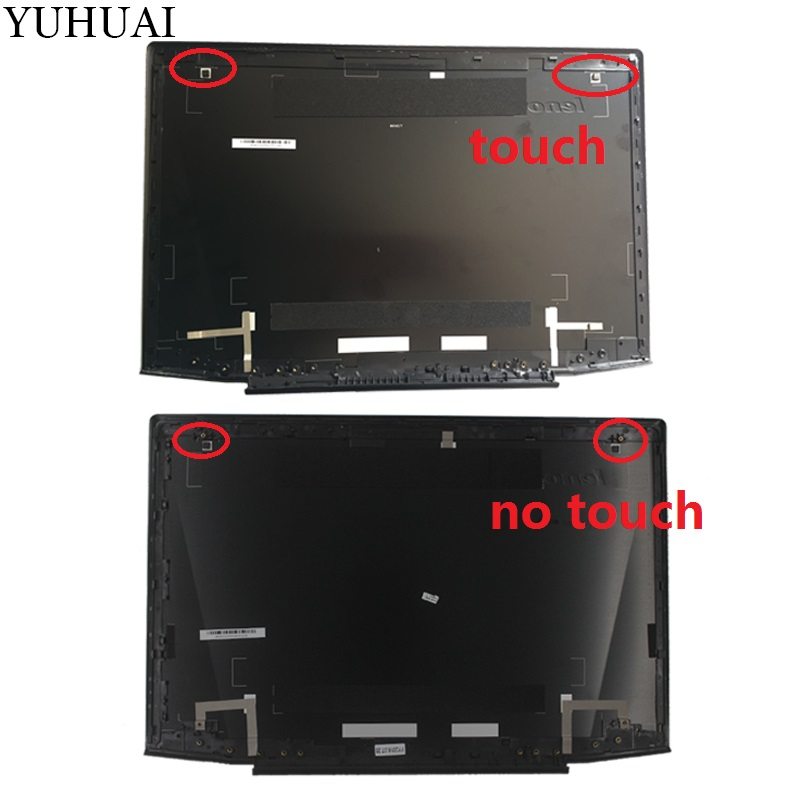 New LCD top cover case for Lenovo black Y50 Y50-70 Y50-70A Y50-70AS-IS Y50-80 15.6 LCD Back Cover case new original for lenovo y50 y50 70 lcd rear back cover top lid for touch am14r000300