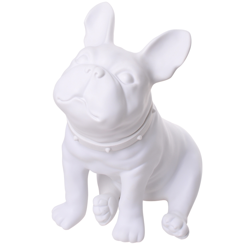 French Bulldog Figurine Sitting Dog Statue Mannequin Dog Office Study Ornaments Desktop Creative Gift R521