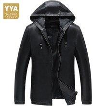Casaco de pele de carneiro para homens jaqueta de pele de carneiro para homens de inverno casaco de couro