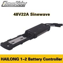 Chamrider Hailong контроллер электровелосипеда кувшин водонепроницаемый разъем 48 в 500 Вт 22A 9 Mosfet Sinewave бесщеточный KT серии светодиодный ЖК-дисплей