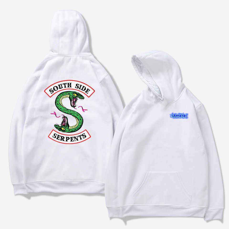 K-pop Riverdale Harajuku Loose Hoodie Sweatshirt Men/Women Autumn Winter Tracksuit Sweatshirt Women Oversize Sweatshirt